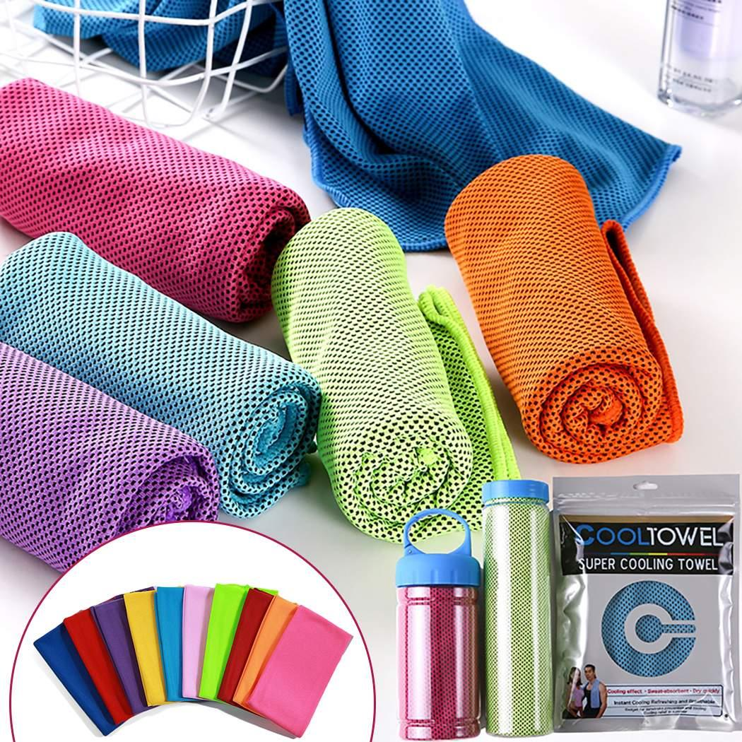 Quick-drying Sports Towel Microfiber Portable Travel Jogger Cloth Hiking Camping Swimming Gym Washcloth