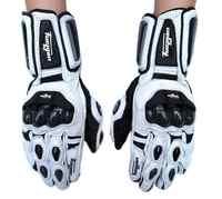 Guantes de cuero para motociclismo para hombre, guantes largos para carreras, guantes para moto, guantes para moto AFS10, guantes para moto