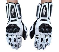 Men's leather motorcycle gloves luva moto long racing gloves guantes para motomoto gloves AFS10 guantes moto