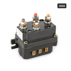 Universal 12V Winch Solenoid Relay Contactor Thumb Truck for ATV UTV 120A 200A 400A(China)