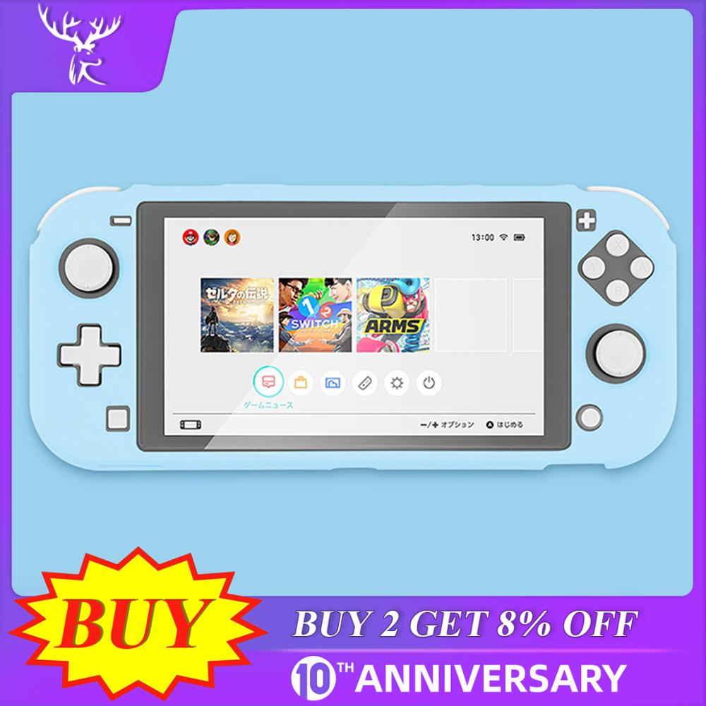 IBen Protective Case Shell For Switch Lite Cute PC Colorful Cover Tailored For Nintend Switch Lite Game Console