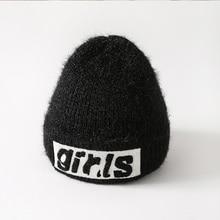 цена на Cute Long Hair Winter Hats For Women Beanie Hat Warm Hip Hop Caps Girl Knitted Unisex Bonnet Femme Girls Beanie Hat Gorro Bonnet