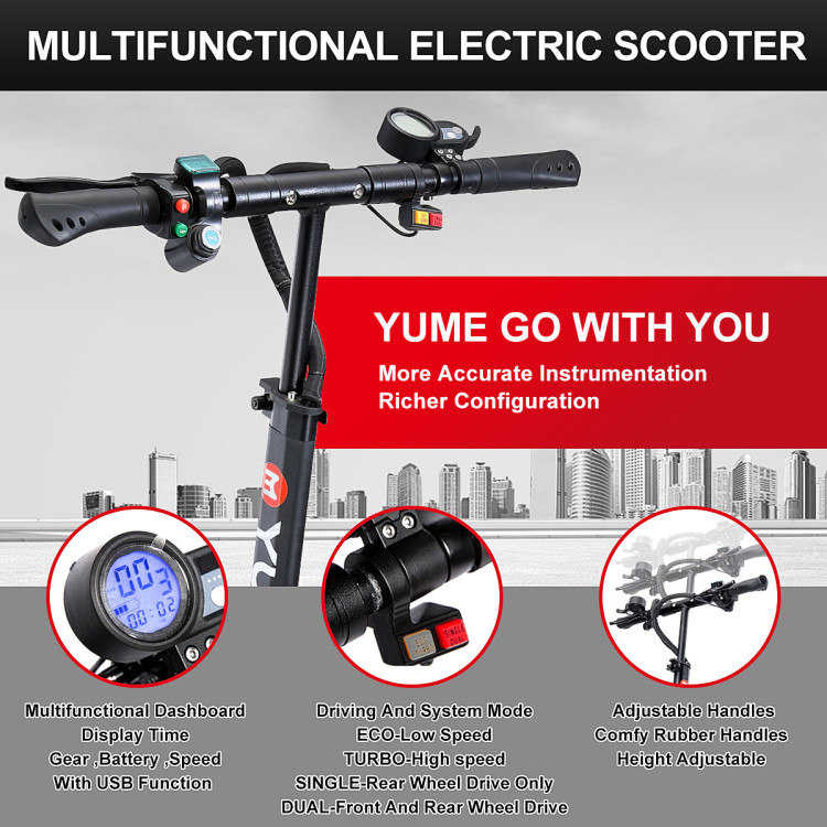 muiti-functional electric scooter