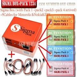 2020 mais novo original sigma caixa + 9 cabo com pack1 pack2 pack3 pack4 nova atualização forhuawei