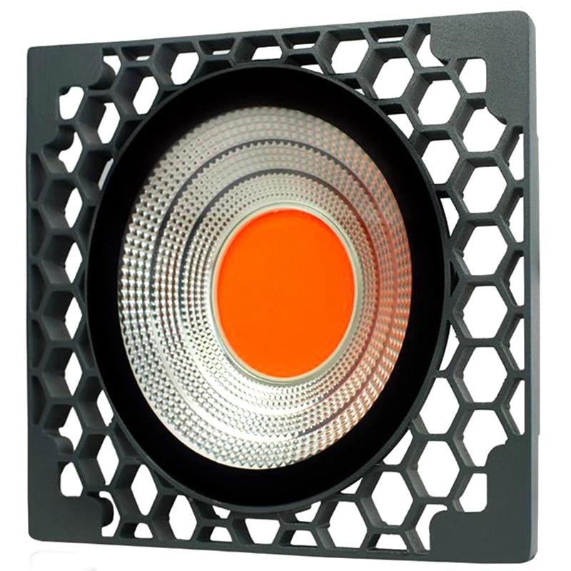 Plant Growth Lamp Led Full Spectrum Plant Light Honeycomb Cooling Waterproof 50W Light Effect Fill Light Eu Plug