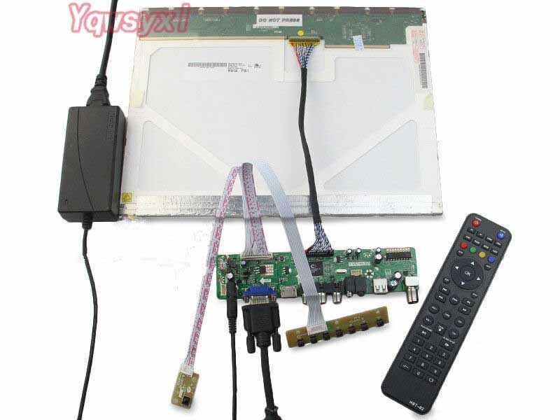 Kit for B150XG02 V.2 V2 LCD LEDscreen Controller Driver Board HDMI+VGA+AV+USB+TV