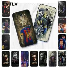 LVTLV The King Lionel Messi Soccer Football Star Phone Case For Samsung Galaxy J7 J6 J8 J4 J4Plus J7 DUO J7NEO J2 J5 Prime(China)