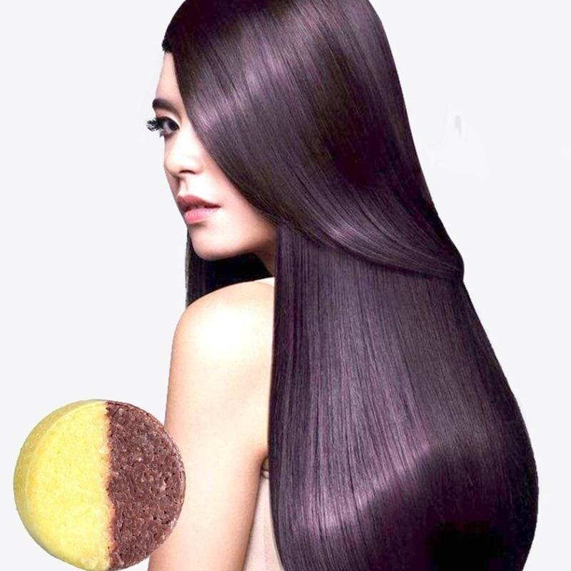 2020 Hair Darkening Shampoo Bar-He Shouwu Natural Organic Conditioner Moisturize And Repair Damaged Hair Hair Care Soap shampoo