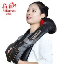 คอไฟฟ้าRoller MassagerสำหรับปวดShiatsuอินฟราเรดหมอนนวดGuaShaผลิตภัณฑ์Body Health Careผ่อนคลาย