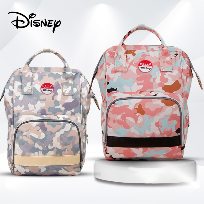 Disney sacs à couches grande capacité sac à dos étanche pour maman bébé sac maternité pour soins de bébé maman Nappy sac voyage momie sacs