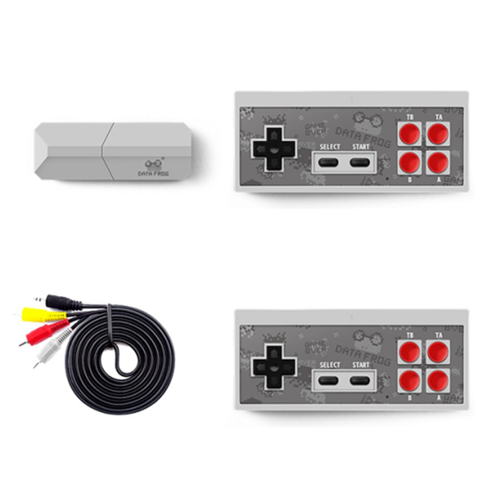HDmi TV HD Game Console Wireless Doubles Game Console ABS Infrared Connection Plug And Play Act Action Game