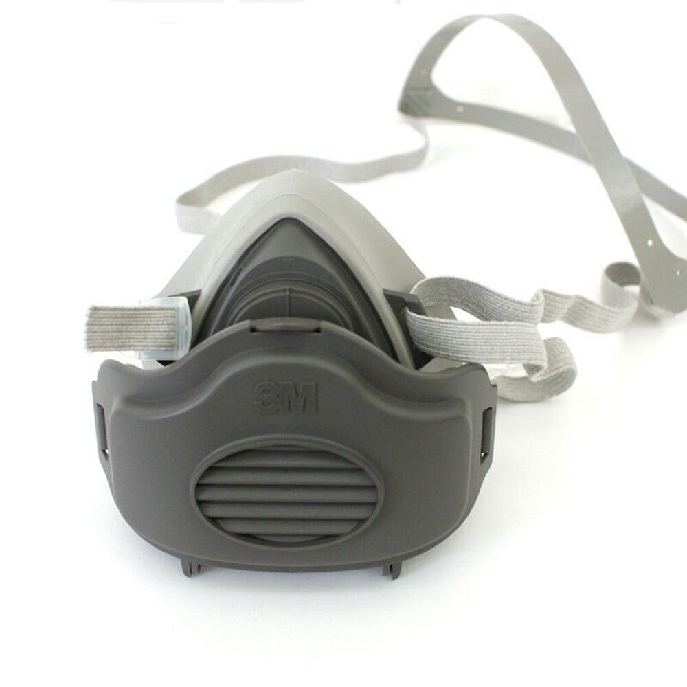 Mascaras 3M 3200 3701CN con filtro a prueba de polvo industrial