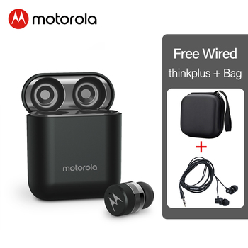 Motorola VB110 Wireless Bluetooth 5.0 Earphones Touch Control Mic Dynamic Earbuds voice assistant Stero Sound Quality for iphone 7