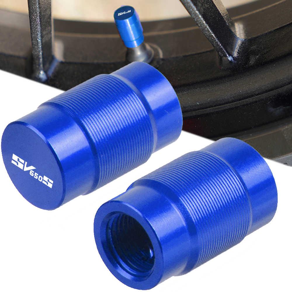Dla Suzuki SV650/S SV 650 S SV650S 1999-2009 2008 2007 2006 2005 2004 2003 2002 2001 2000 para koła do motocykla zawór opony czapki