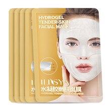 Ilisya Hydrogel Gezichtsmasker Hoge Kwaliteit Anti Rimpel Anti Aging Gezichtsmasker Hydrating Tender Huid Masker Voorkomen rimpels 1 Pc