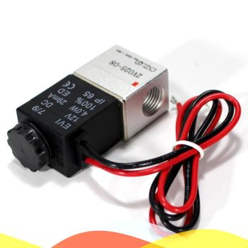 2V025-08 Air Pneumatic Valve 1/4 Electromagnetic Solenoid Valve DC12V/DC24V/AC220V Voltage 4v210 08 pneumatic dc12v dc24v ac110 ac220 5 way triple solenoid valve w base push in connectors silencer