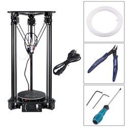 Bezpłatny prezent lampa księżycowa delta kossel drukarka 3d automatyczne poziomowanie duży rozmiar wydruku 3d wysokiej jakości roczna gwarancja pulpit diy kit na