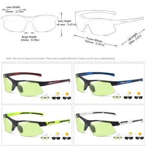 Image 5 - 브랜드 야외 스포츠 Photochromic 선글라스 남자 Polarized Day Night Vision Sun Glasses 레이디 운전 고글 lentes de sol hombre