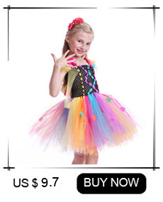 H8e8d98d1eb754b6da4edd8ff7aba73dbF Maleficent Black Gown Tutu Dress with Deluxe Horns and Wings Girls Villain Fancy Dress Kids Halloween Cosplay Witch Costume