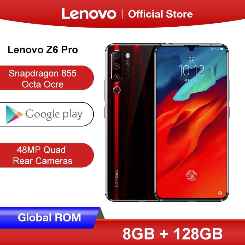 Global ROM Lenovo Z6 Pro 8GB 128GB Snapdragon 855 Octa Core Smartphone 6.39