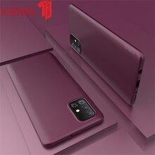 X-level Silicone Case For Samsung Galaxy A51 Soft Tpu Phone Cover For Samsung A71 Case armor phone case for samsung galaxy a51 cover tpu