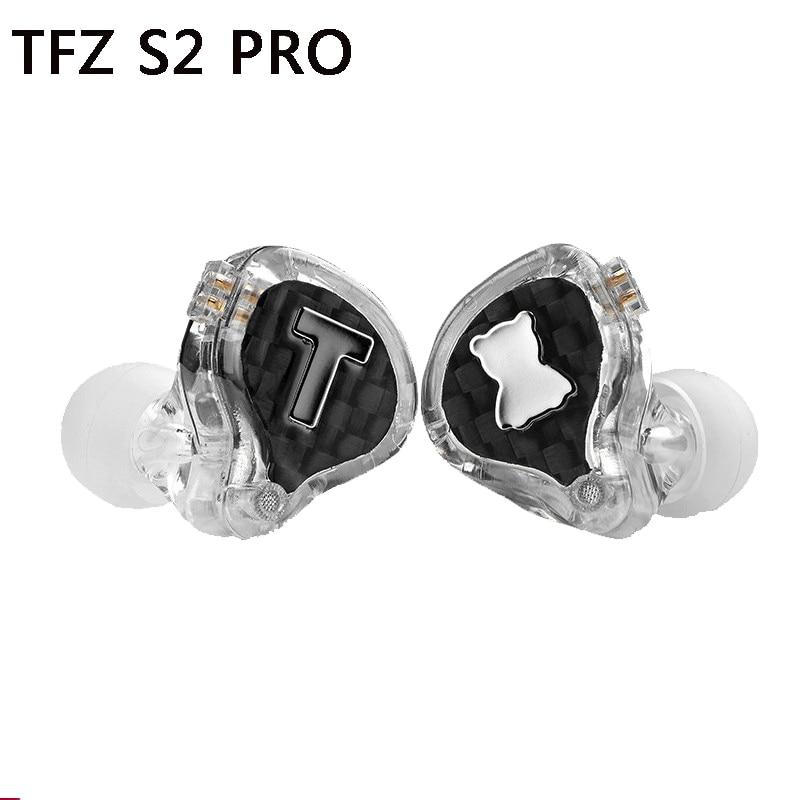 TFZ S2 PRO In Ohr Kopfhörer Dj Professionelle Monitore Super Bass Headset HD Wired Hifi Mp3 Kopfhörer