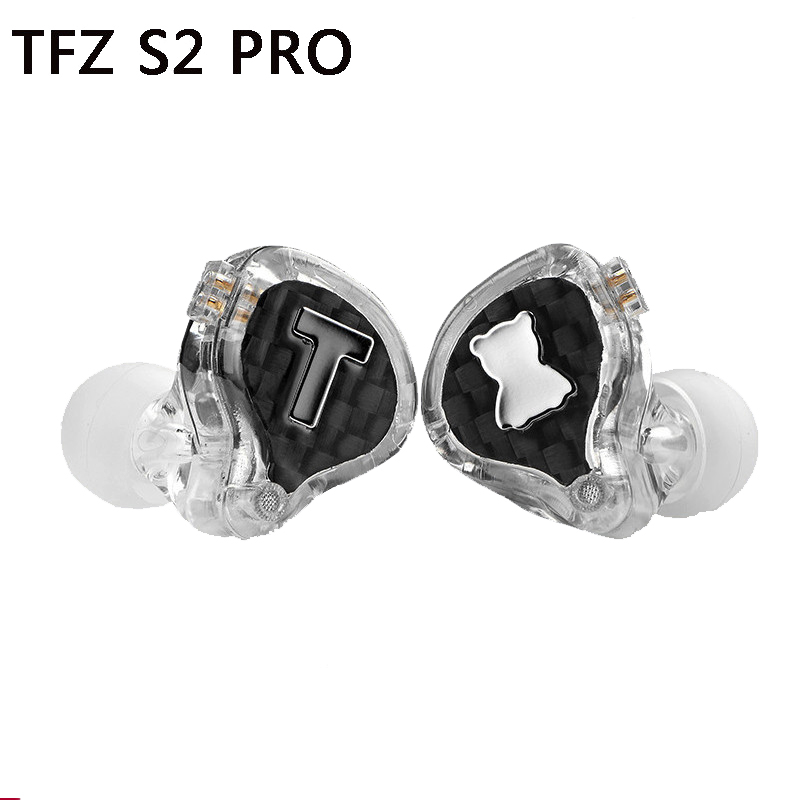 Tfz S2 Pro In Ear Hoofdtelefoon Dj Professionele Monitoren Super Bass Headset Hd Wired Hifi Mp3 Oortelefoon