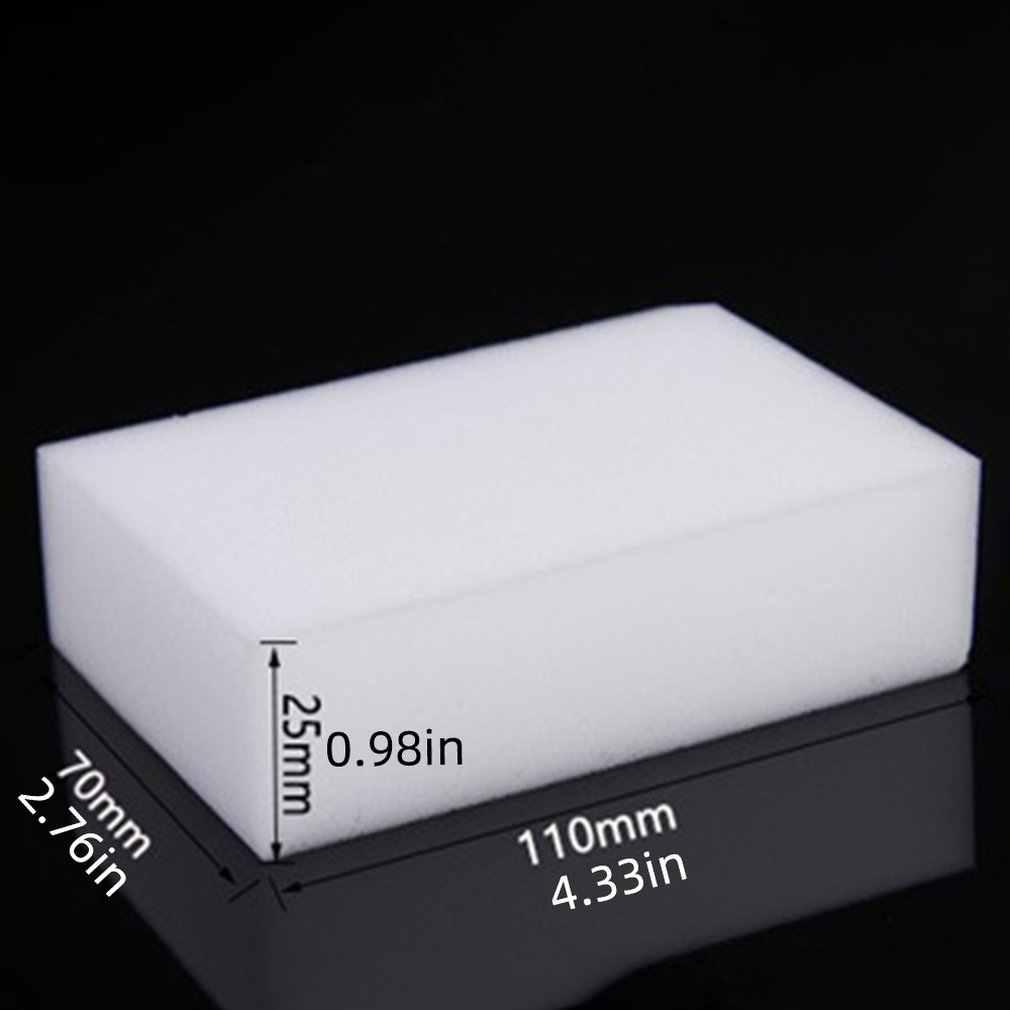 Magic Magic NANO Magic แปรงความหนาแน่นสูง Decontamination ถูสีขาวทำความสะอาดฟองน้ำ