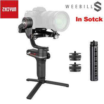 ZHIYUN Official Weebill S 3-Axis Image Transmission Handheld Gimbal Stabilizer for Mirrorless Camera with OLED Display Portable