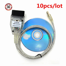 10pcs/lot For BMW INPA K+CAN K CAN INPA Switch With FT232RL Chip INPA K DCAN For BMW USB Interface Full Diagnostic For BMW