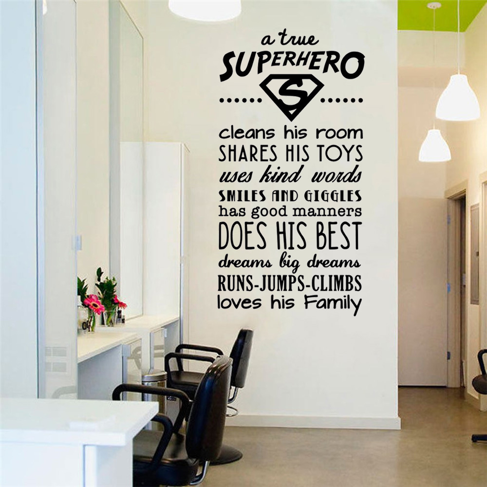 MOTIVATIONAL POSTER PRINT PICTURE SUPERHERO RULES INSPIRATIONAL