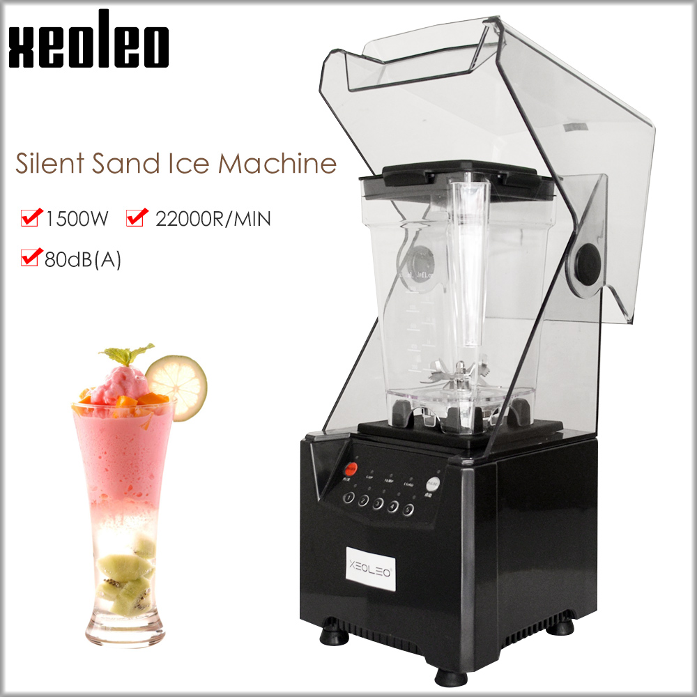 Xeoleo Food blender Commercial blender 1000ml Sound insulation Food Processor Smoothie Maker Mute Juicing machine Food mixer