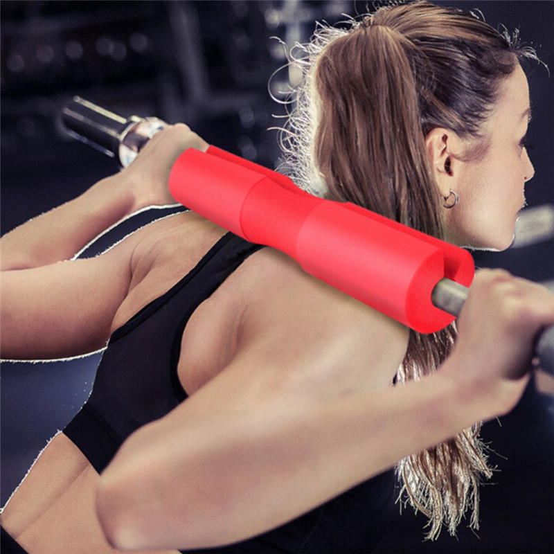 Barbell Squat Pad Neck Shoulder Back Protector Light Weight Cushion Barbell Neck Support Braces Fitness Protection Tools Back Support     - title=