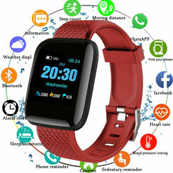 Sport Smart Couple Watches Wearable Waterproof Pedometer Bluetooth Heart Rate Sleep Monitoring for Children Men And Women Watch