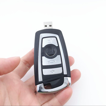Nueva unidad de memoria USB de para llave de coche 8GB 16GB 32GB 64GB 128GB 256G Pendrive Personalizado llave de coche Logo memo