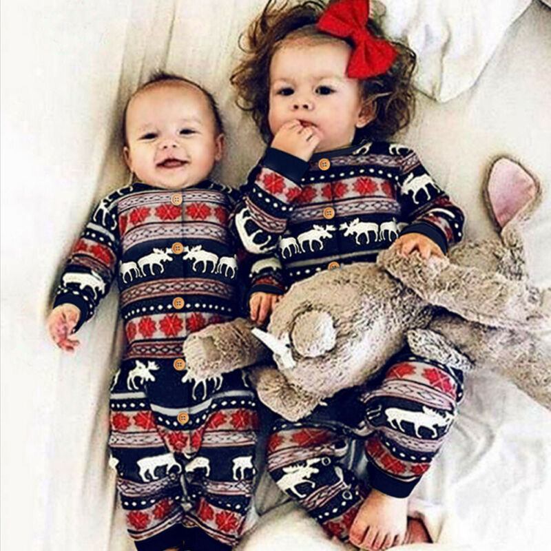 US STOCK Newborn Baby Girl Boy Romper Bodysuit Jumpsuit Outfits Clothes Hot