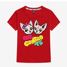 ME CONTRO TE Cute Dogs Kids T shirt 3-12t Kids Girls Pullover Tee Baby kids Top designer clothes велосипед cannondale contro 3 2016
