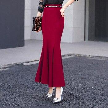 Women's Ruffles Tail Skirts