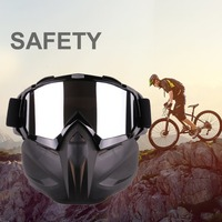 Motorcycle Goggles Motorbike Bike Racing Goggles Glasses Cycling Off Road|Motorcycle Glasses| |  -
