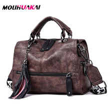 Роскошные брендовые сумочки из мягкой кожи, винтажные женские сумочки с кисточками, дизайнерская женская сумка тоут, сумки через плечо для женщин, сумка на плечо