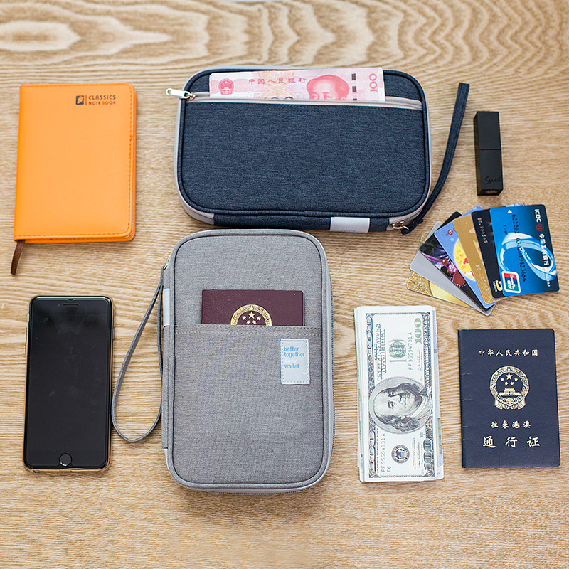 NEW Portable Travel Accessories Waterproof Oxford Multifunction Passport Wallets Card Holders Money Purse Cheap