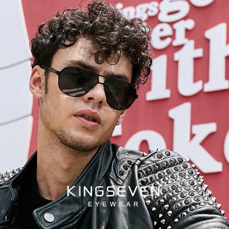 KINGSEVEN 2019 новый дизайн Пилот солнцезащитные очки мужские винтажные Поляризованные солнцезащитные очки Аксессуары мужские солнцезащитные очки для мужчин на заказ
