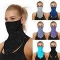 Außen Nahtlose Reiten Maske Neck Mehrzweck Schutz Gesicht Maske Motorrad Ohrenschützer Stirnband Schal Neck Magie Schal