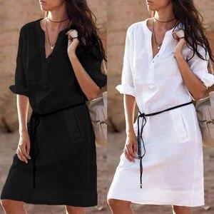 Fashion Womens Boho Long Sleev