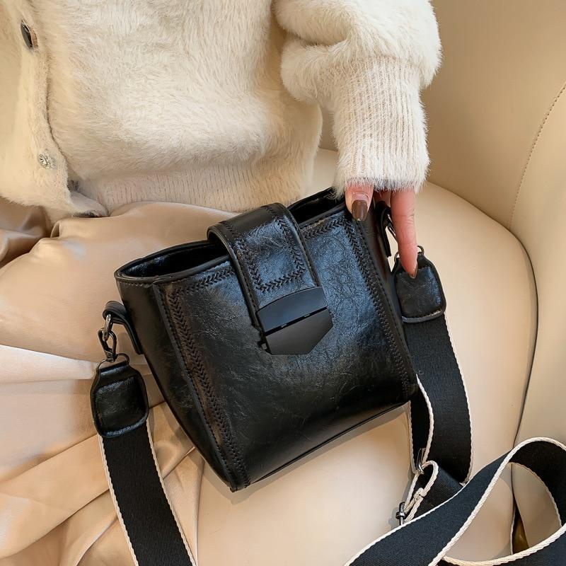 Осенне зимние сумки для женщин повседневные Новые корейские модные темпераментные Универсальные Сумки на одно плечо|Сумки с ручками|   | АлиЭкспресс