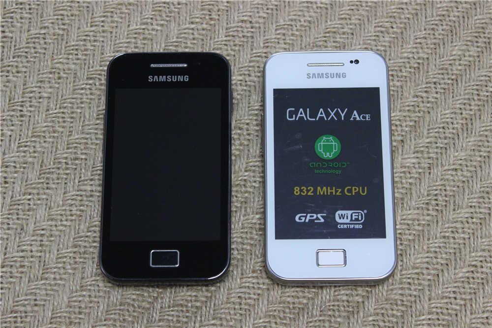 S5830i Original débloqué Samsung Ace S5830 GPS 5MP caméra Bluetooth WIFI 3G téléphone portable remis à neuf livraison gratuite