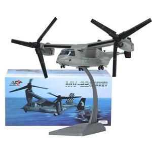 1/72 весы Темно-Синяя армия Морпехи V-22 Boeing Bell Osprey вертолет ВВС самолет модели игрушки для демонстрации коллекции