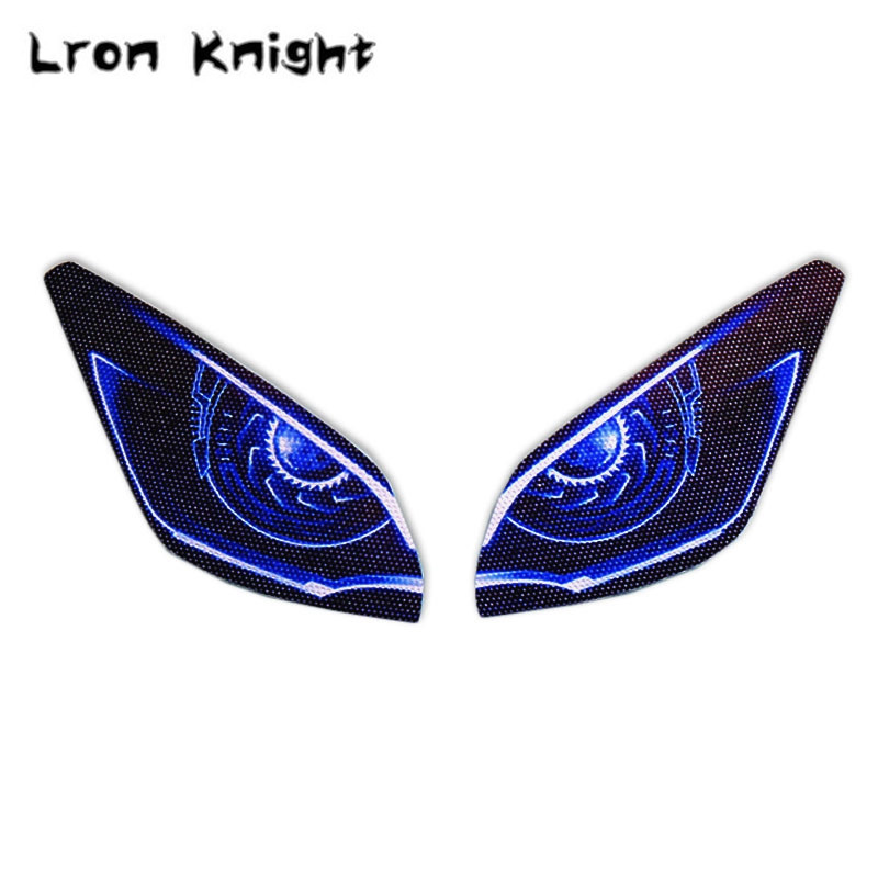 For Yamaha Mt 09 Tracer Mt09 Mt 09 2016 2019 Motorcycle 3d Front Fairing Headlight Stickers Guard Head Light Protection Sticker Special Price D77f Cicig