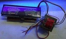 Mono Eindversterker Panel Dual Vu Meter Audio Niveau Db Meter Muziek Audio Spectrum Indicator Met Voeding