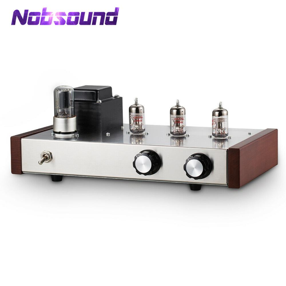 Nobsound HiFi 12AX7B Vacuum Tube Pre-amplifier Stereo Home Audio Preamp Ref Marantz M7